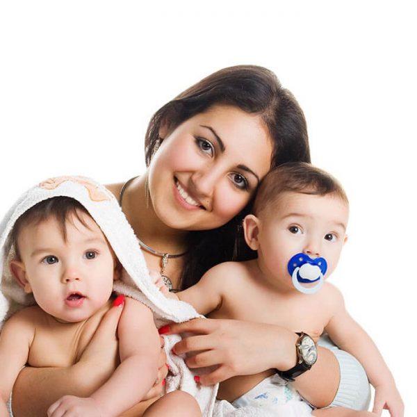 Μαμά διδύμων – Διπλή ευτυχία από το πρώτο λεπτό